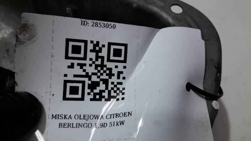 MISKA OLEJOWA CITROEN BERLINGO 1,9D 51kW