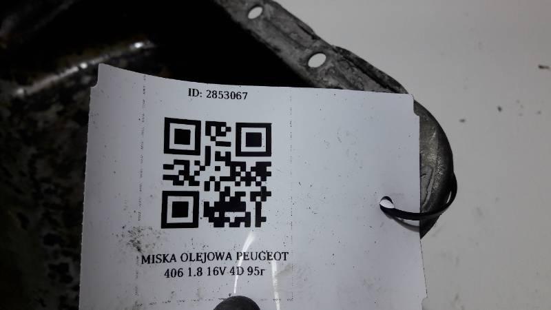 MISKA OLEJOWA PEUGEOT 406 1.8 16V 4D 95r