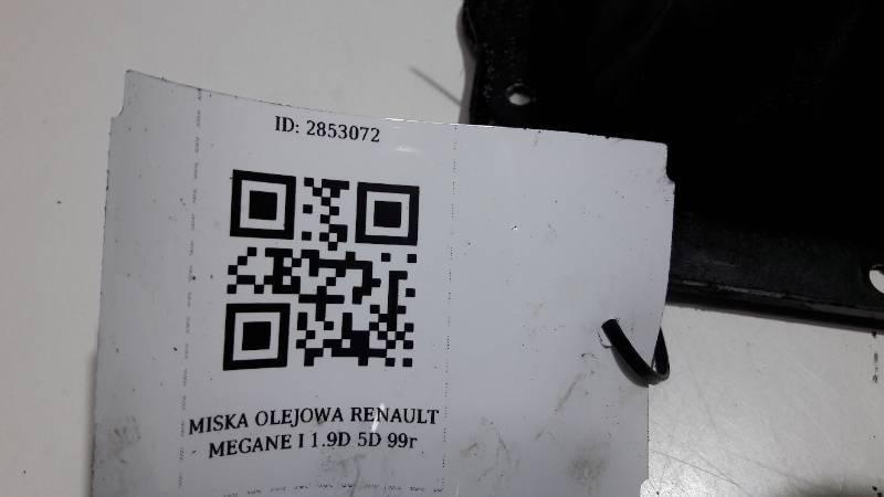 MISKA OLEJOWA RENAULT MEGANE I 1.9D 5D 99r
