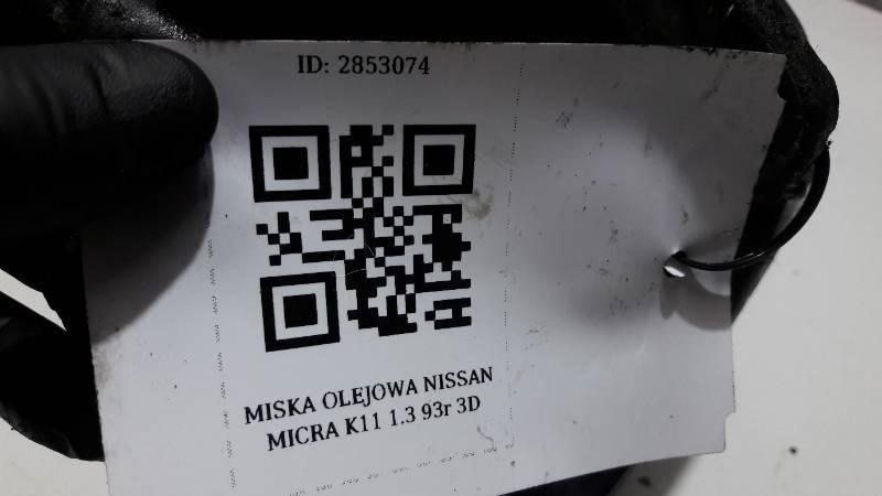 MISKA OLEJOWA NISSAN MICRA K11 1.3 93r 3D