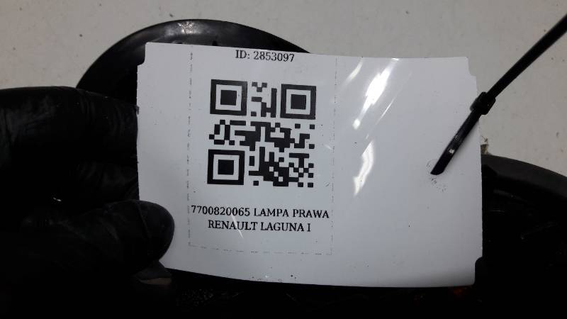 7700820065 LAMPA PRAWA RENAULT LAGUNA I
