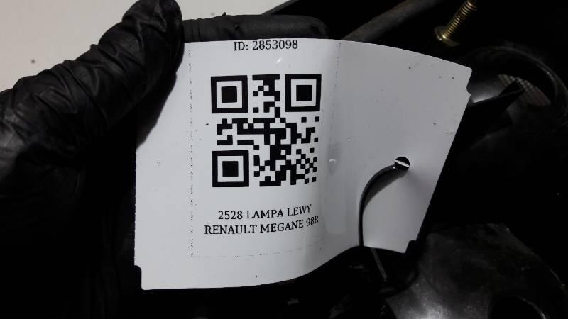 2528 LAMPA  LEWY  RENAULT MEGANE I 98R