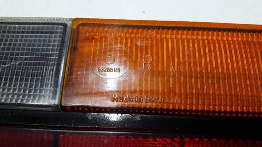 53266R6 LAMPA PRAWY TYL  AUDI 100 C2 80 B1