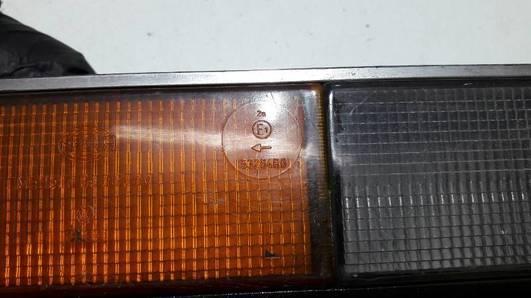 53264R6 LAMPA LEWA AUDI 100 C2