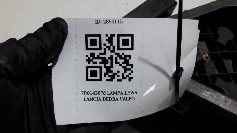 7R0143877 LAMPA LEWA LANCIA DEDRA VALEO
