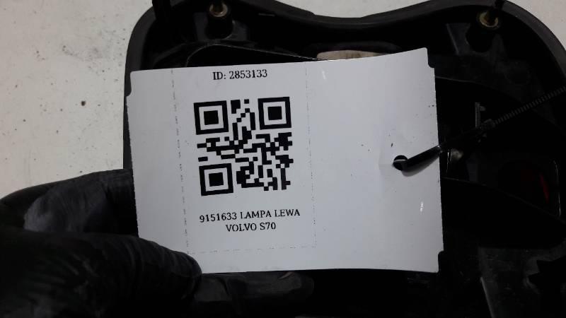 9151633 LAMPA LEWA VOLVO S70