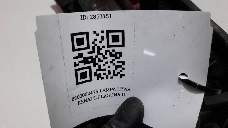 8200002475 LAMPA LEWA RENAULT LAGUNA II