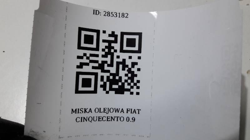 MISKA OLEJOWA FIAT CINQUECENTO 0.9