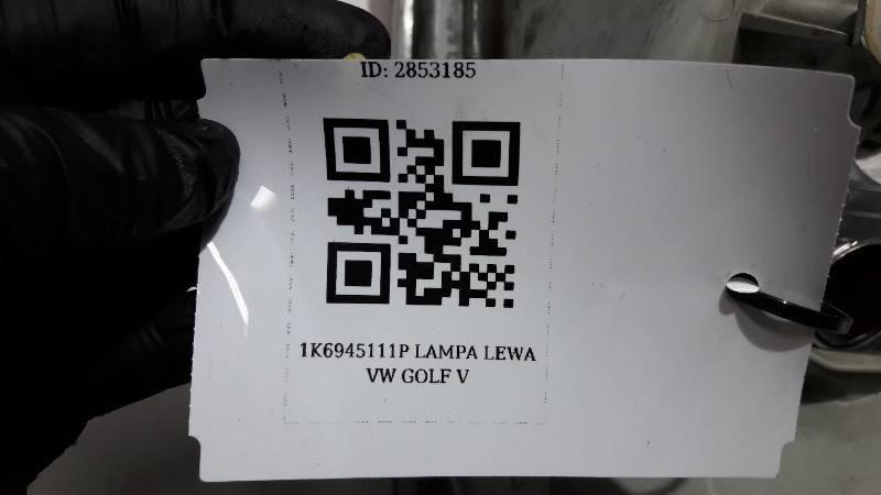 1K6945111P LAMPA LEWA VW GOLF V