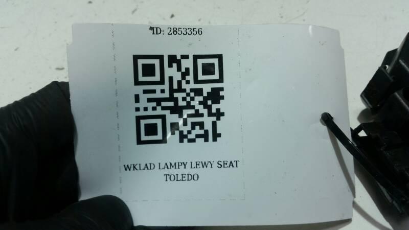961637-00 WKLAD LAMPY LEWY SEAT TOLEDO I 1L