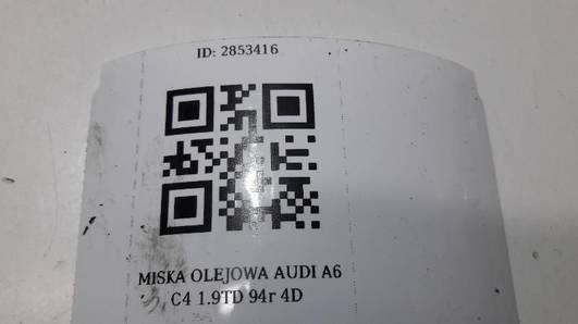MISKA OLEJOWA AUDI A6 C4 1.9TD 94r 4D