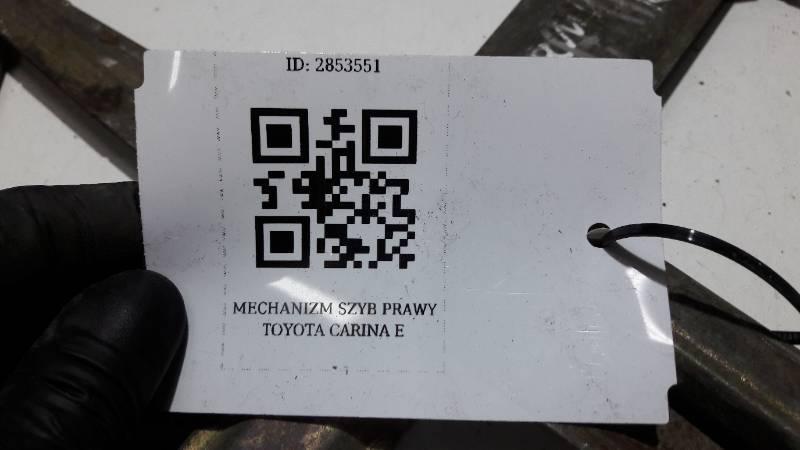 MECHANIZM SZYBY PRAWY TOYOTA CARINA E
