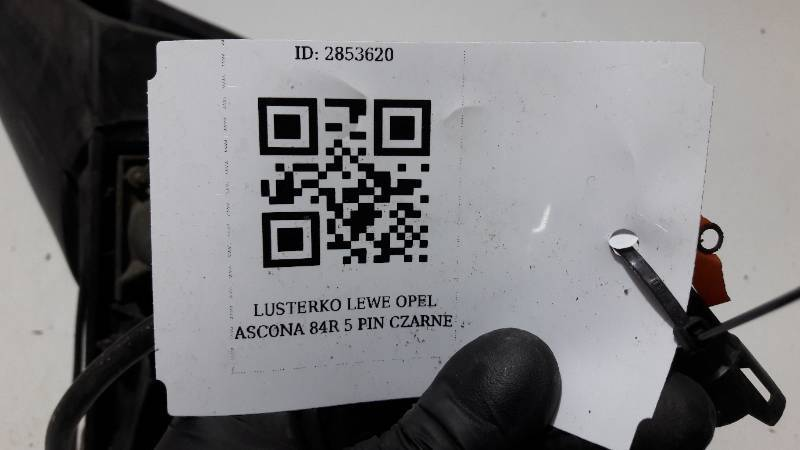 LUSTERKO LEWE OPEL ASCONA C 84R 5 PIN CZARNE