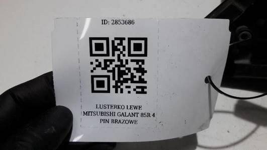 LUSTERKO LEWE MITSUBISHI GALANT IV 85R 4 PIN BRAZ