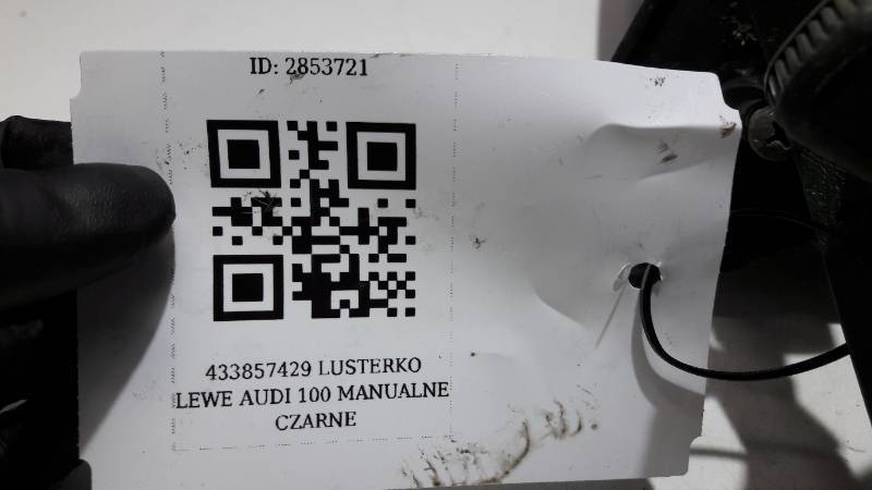433857429 LUSTERKO LEWE AUDI 100 C2 MANUALNE