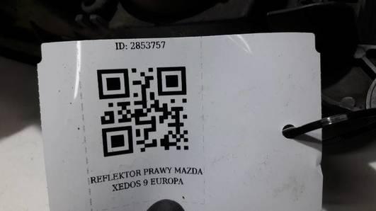 REFLEKTOR PRAWY MAZDA XEDOS 9 EUROPA