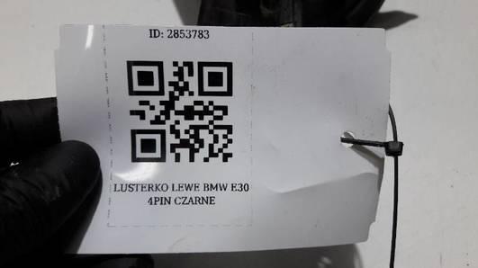 LUSTERKO LEWE BMW E30 4PIN CZARNE