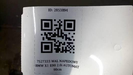 7527333 WAL NAPEDOWY BMW X1 E90 2.0i AUTOMAT 90cm