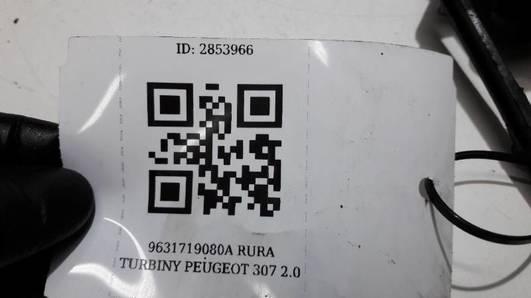 9631719080A RURA TURBINY PEUGEOT 307 2.0