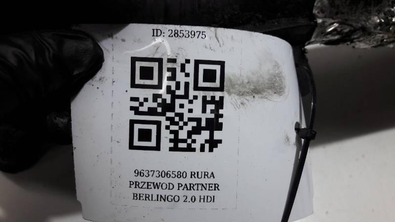 9637306580 RURA PRZEWOD PARTNER BERLINGO 2.0 HDI