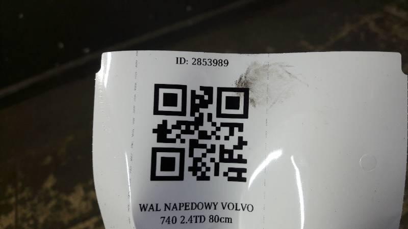 WAL NAPEDOWY VOLVO 740 2.4TD 80cm