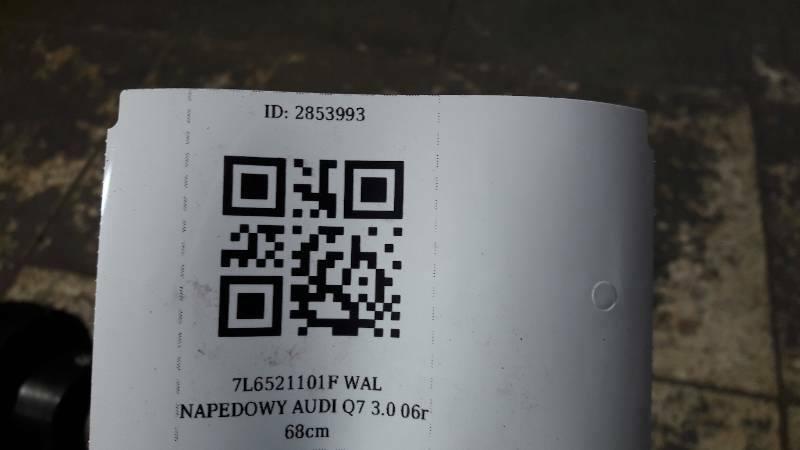 7L6521101F WAL NAPEDOWY AUDI Q7  3.0 06r 68cm