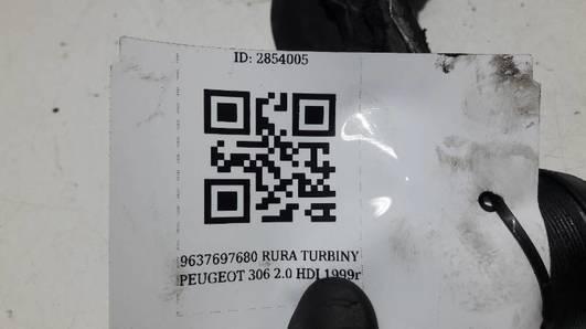 9637697680 RURA TURBINY PEUGEOT 306 2.0 HDI 1999r