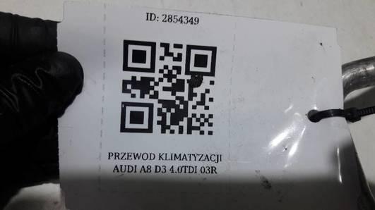 PRZEWOD KLIMATYZACJI AUDI A8 D3 4.0TDI 03R