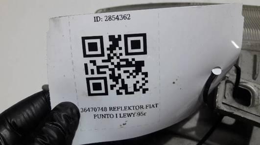 36470748 REFLEKTOR FIAT PUNTO I LEWY 95r