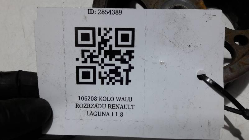 106208 KOLO WALU ROZRZADU RENAULT LAGUNA I 1.8