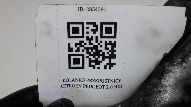 AK0012664 KOLANKO PRZEPUSTNICY PEUGEOT 2.0 HDI