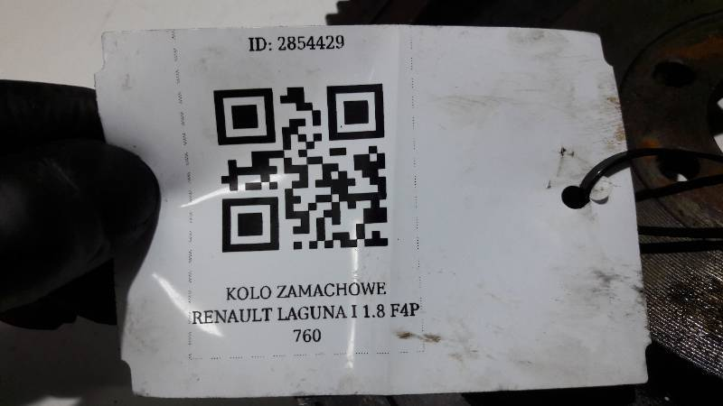 KOLO ZAMACHOWE RENAULT LAGUNA I 1.8 F4P 760