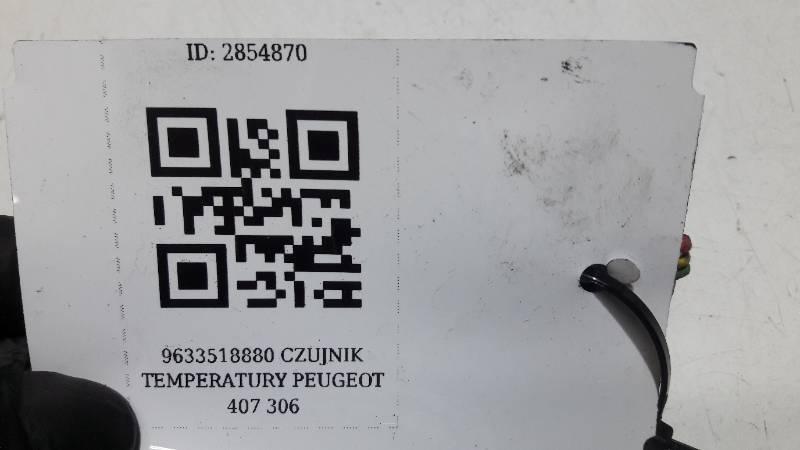9633518880 CZUJNIK TEMPERATURY PEUGEOT 407  306