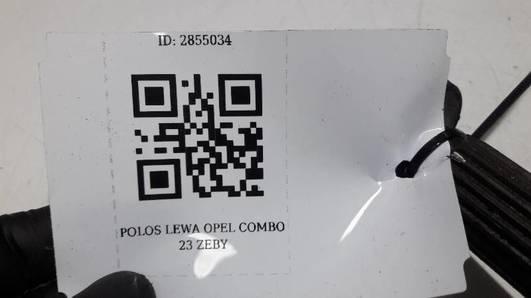POLOS LEWA OPEL COMBO 22 ZEBY
