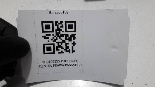3C0199555 PODUSZKA SILNIKA PRAWA PASSAT CC