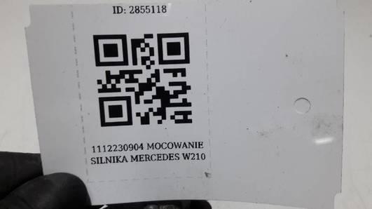 1112230904 MOCOWANIE SILNIKA MERCEDES W210