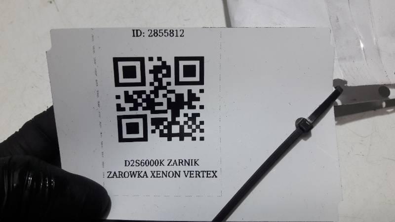 D2S6000K ZARNIK ZAROWKA XENON VERTEX D2S