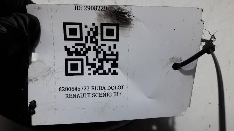8200645723 RURA DOLOT RENAULT SCENIC III