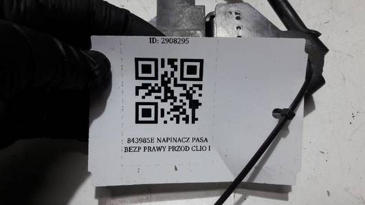 843985E NAPINACZ PASA  PRAWY PRZOD  CLIO I