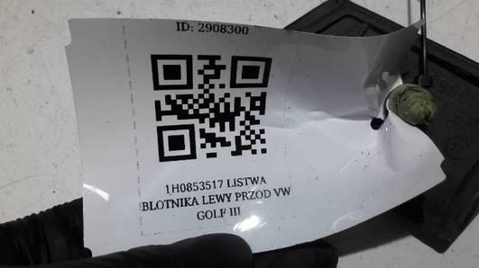 1H0853517 LISTWA BLOTNIKA LEWY PRZOD VW GOLF III