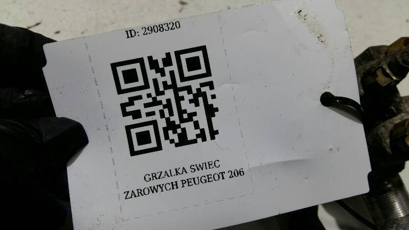 GRZALKA SWIEC ZAROWYCH PEUGEOT 206