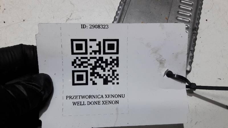 PRZETWORNICA XENONU WELL DONE  XENON