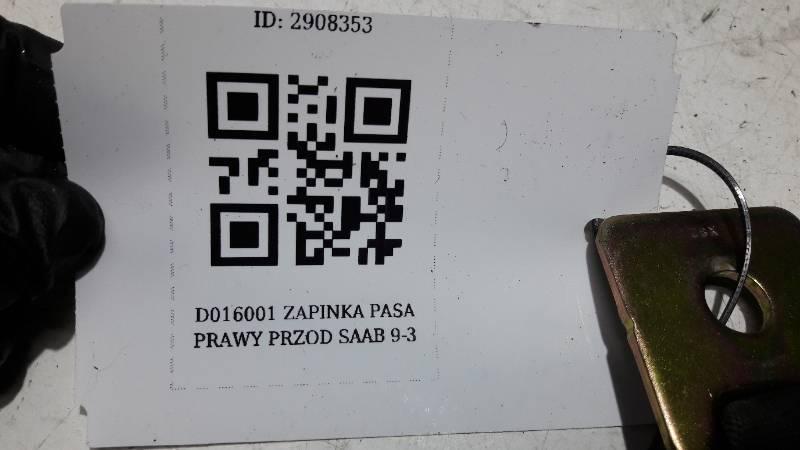 D016001 ZAPINKA PASA LEWY TYL DAIHATSU CUORE