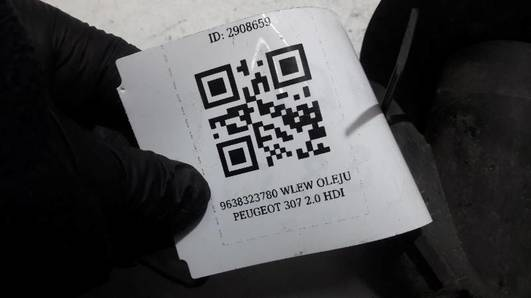 9638323780 WLEW OLEJU PEUGEOT 307 2.0 HDI