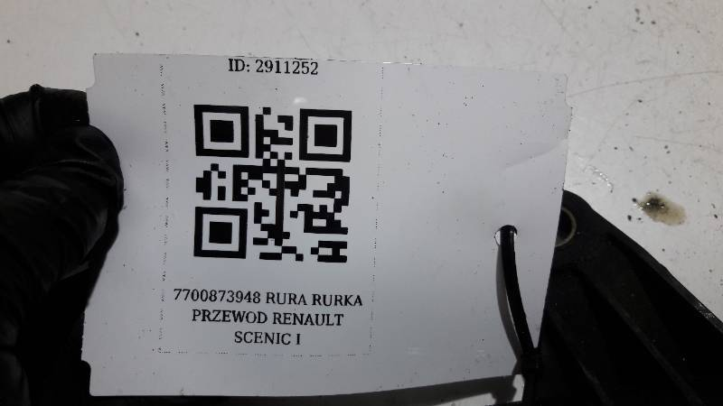 7700873948 RURA RURKA PRZEWOD RENAULT SCENIC I