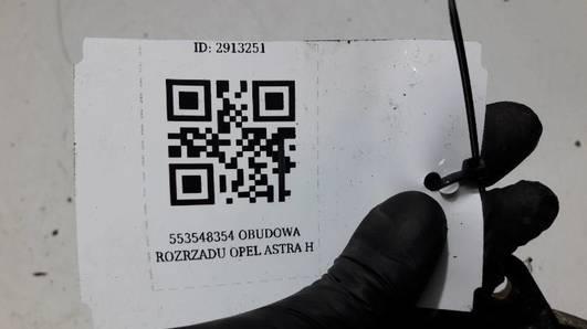 553548354 OBUDOWA ROZRZADU OPEL ASTRA H