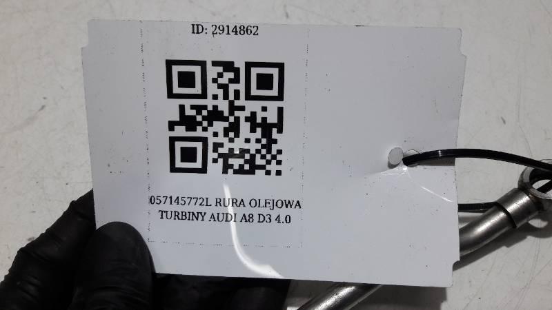 057145772L  RURA OLEJOWA TURBINY AUDI A8 D3 4.0