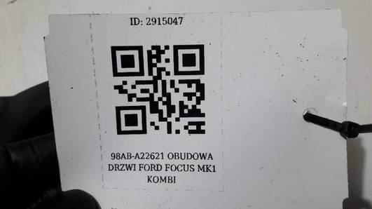 98AB-A22621 OBUDOWA DRZWI FORD FOCUS MK1 KOMBI