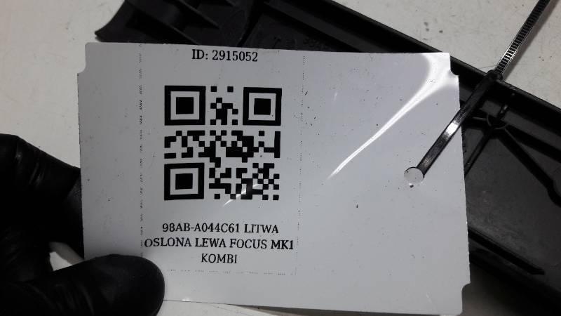 98ABA044C61AMW LITWA OSLONA LEWA FOCUS MK1 KOMBI