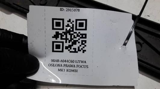 98ABA044C60AMW LISTWA PRAWA FOCUS MK1 KOMBI